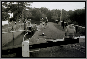 lock 27, grand union canal, linslade